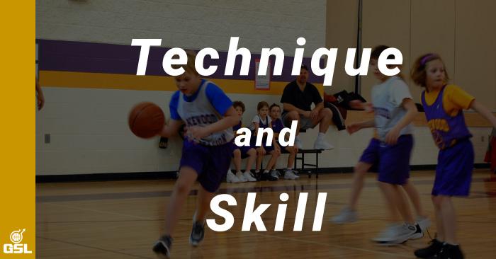 バスケットボールにおけるテクニックとスキルの違い