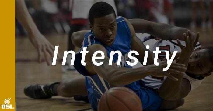 バスケットボールにおけるインテンシティ(強度)の意味と高め方