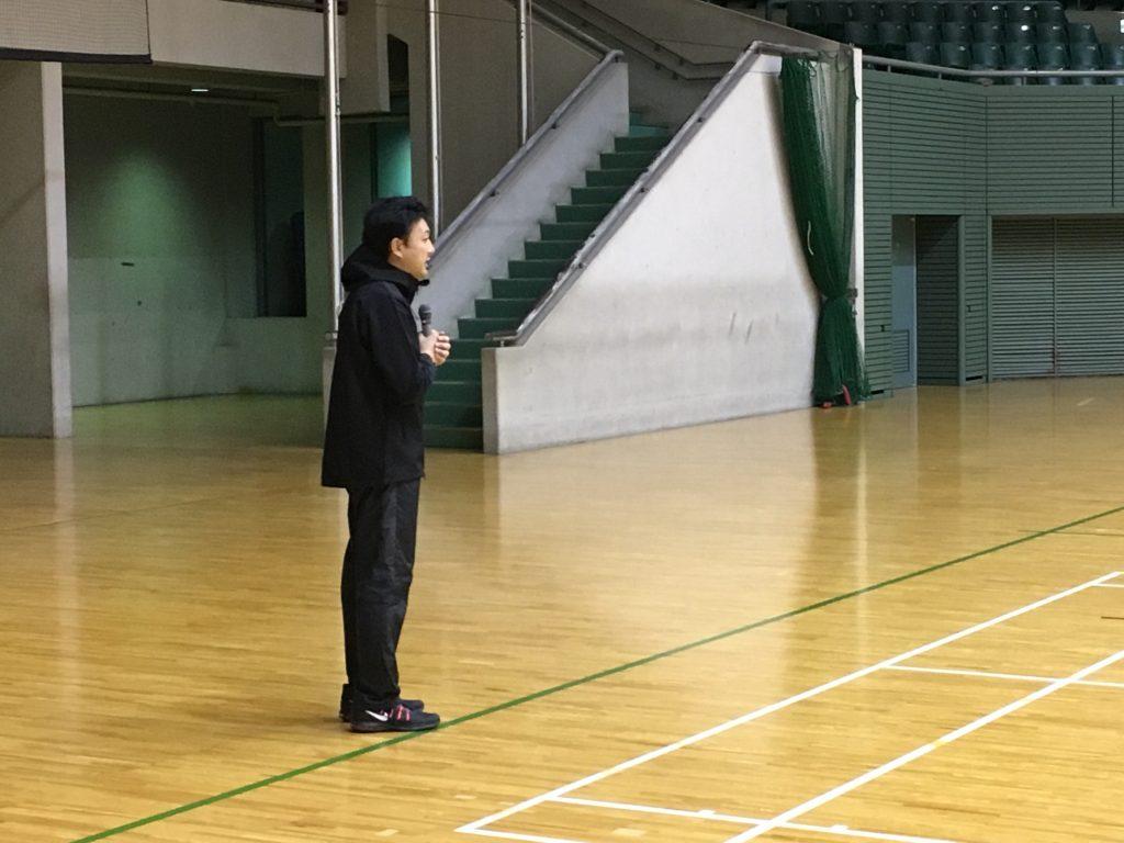 司会進行を務める塚本鋼平氏©B.LEAGUE